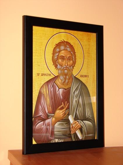 Icoana cu rama Sf Apostol Andrei